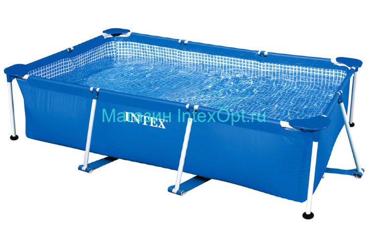 220х150х60 см прямоугольный каркасный бассейн 28270 Intex купить оптом с доставкой в Москве: оптовая цена дешевле 5 794 руб.