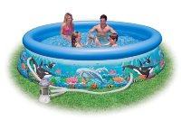54902/28126 Intex Надувной бассейн ocean reef easy set pool set